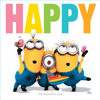 Happy-Pharrell Williams- DESPICABLE ME 2