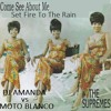 THE SUPREMES VS ADELE - COME SEE ABOUT ME SET FIRE TO THE RAIN [DJ AMANDA VS MOTO BLANCO]