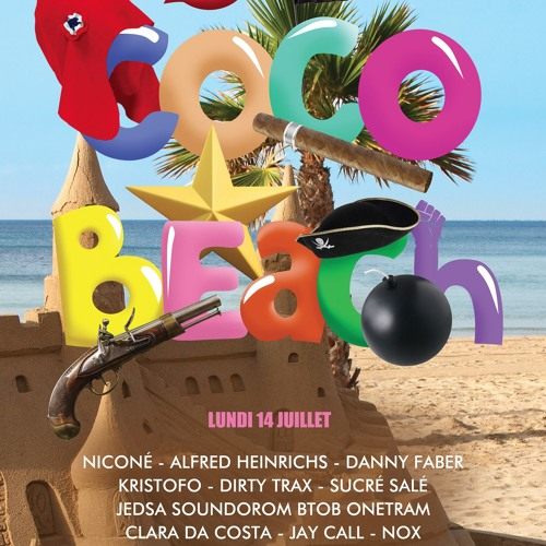 Niconé at Cocobeach - 14th of july 2014