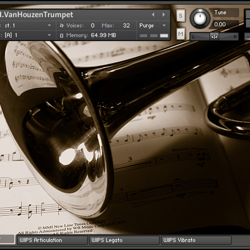 """El Matador Enters the Kitchen!"" - microForj.UofI.VanHouzenTrumpet (demo)"