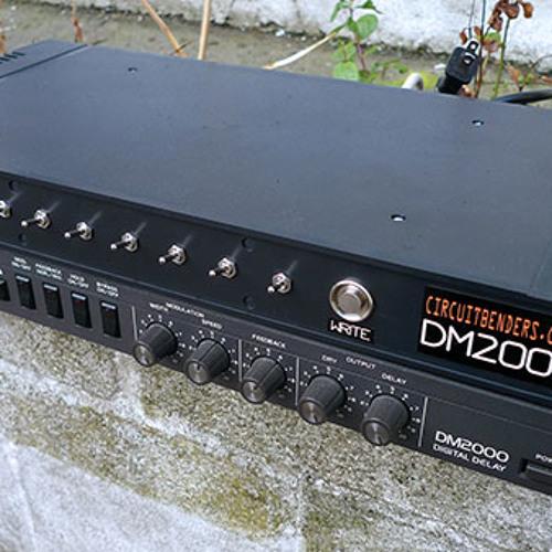 Circuit Bent Ibanez DM2000 Delay