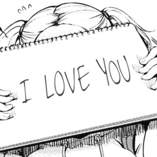 Аниме картинки я тебя люблю