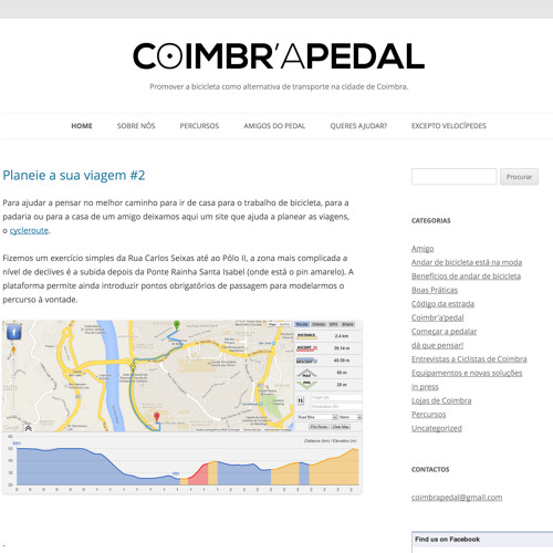 Coimbra A Pedal