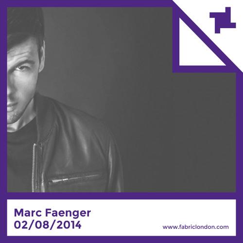 Marc Faenger - fabric x Minus Promo Mix