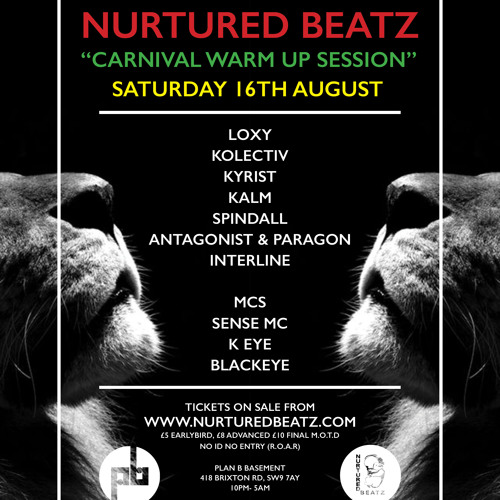 Antagonist - Nurtured Beatz X InReach [16.08.14] Promo Mix #2