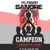 YO TENGO SANGRE DE CAMPEON - CAMPAMENTO DE JOVENES 2014 - ASOCIACION OLMECA Portada del disco