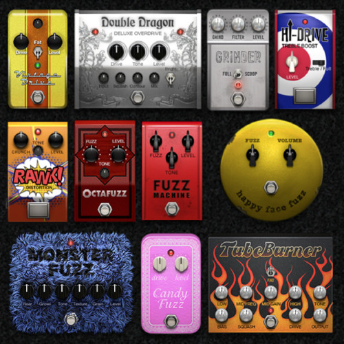Digital Bass Distortion: Which one do you like most? 1,2,3,or 4