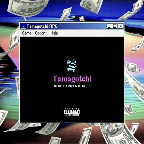 black kray tamagotchi