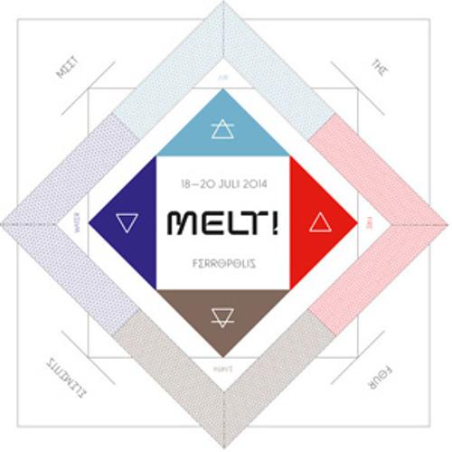 Moderat - Live @ Melt! Festival - Ferropolis, Germany (20.07.2014)