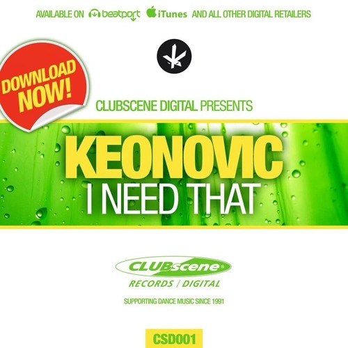 Keonovic - I Need That