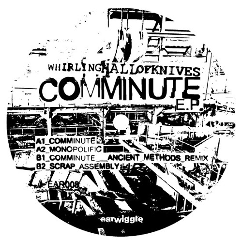 Whirling Hall Of Knives - Comminute EP