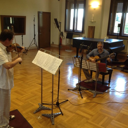 Duo Paganini: G. Fourè - Pavana