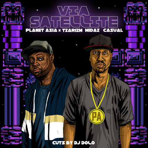 Planet Asia x TzariZM - Via Satellite feat. MidaZ & Casual (EXCLUSIVE)
