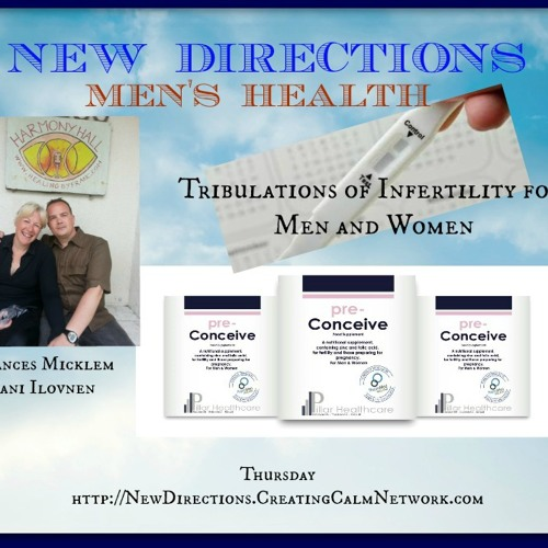 New Directions with Frances Micklem on Infertility and Mens Health