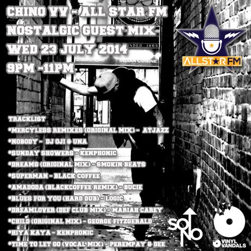"""Chino Vv - AllStar FM """"Nostalgic Guest Mix"""""""