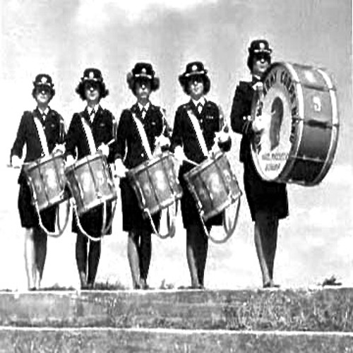Female Drummer (Norman Chop Trio)