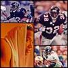 Pro Bowl NFC Rushing Leader Atlanta Falcon Jamal Anderson