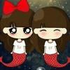 Diza ( Diva & Zahra ) cover lagu Fatin hahahahahah