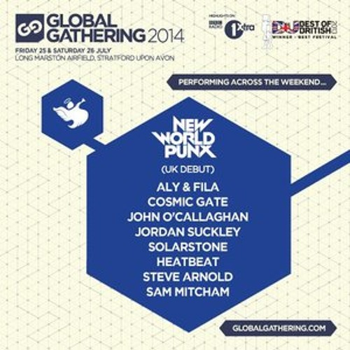 Jordan Suckley - Live @ Global Gathering- 25.07.2014