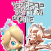 Baby Rosalina vs. Pink Gold Peach. Epic Rap Battles of Obie 11