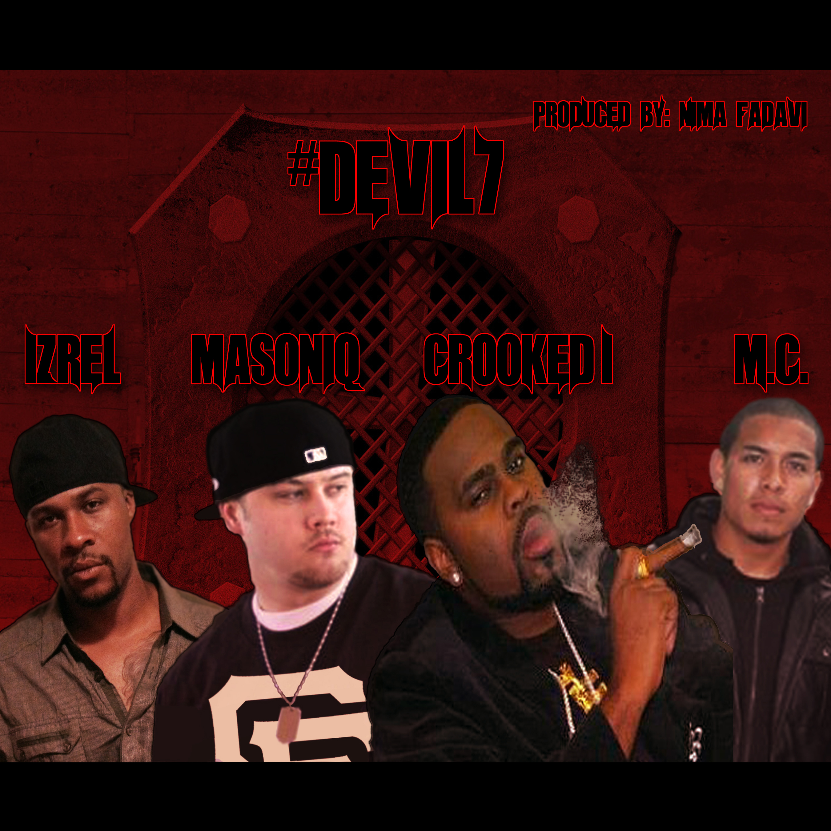 Masoniq ft. Crooked I, Izrel & M.C. - Devil7 (prod. Nima Fadavi) [Thizzler.com]