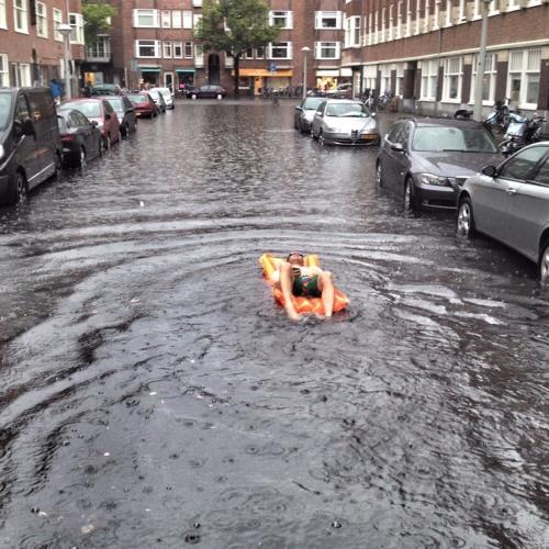 Wateroverlast bekijk je op een positieve manier