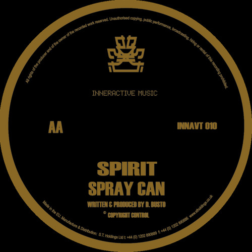 Spirit - Spray Can (INNAVT 010)