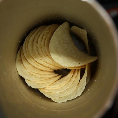 Livin' Large Lubecker: Macho Umbrella Shortage and Pringles