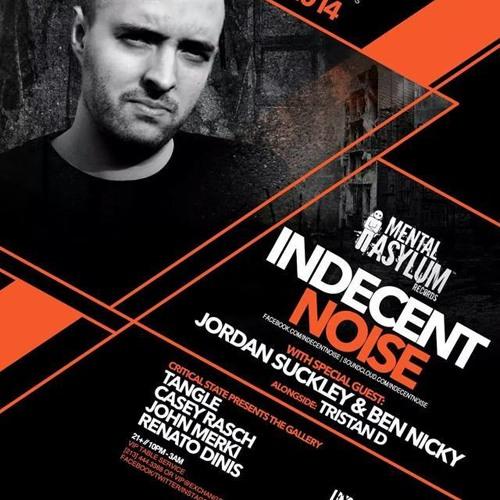 Indecent Noise LIVE @ Mental Asylum Night Los Angeles (18.07.14)