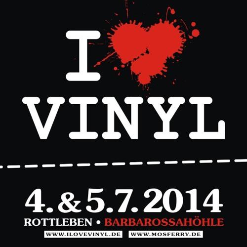 DJ Set At I Love Vinyl Open Air 2014 - Douglas Greed