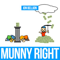 Jon Bellion Munny Right Artwork