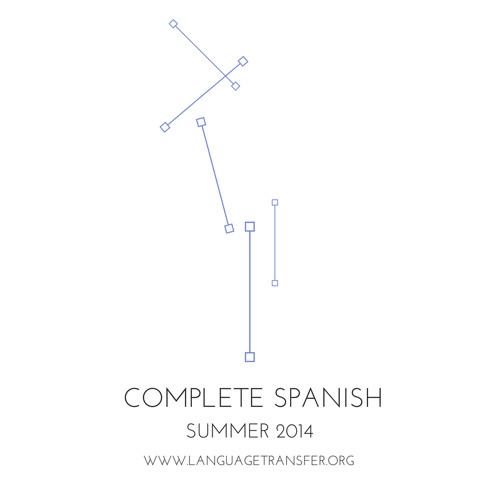 Complete Spanish, Track 5 - Language Transfer, The Thinking Method