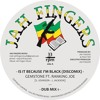 "JAH FINGERS MUSIC 2014 - GEMSTONE FT RANKING JOE - IS IT BECAUSE I'M BLACK 12"""