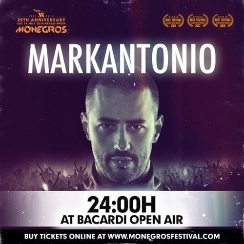 Markantonio Live @ Monegros Desert Festival 2014