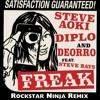Steve Aoki, Diplo & Deorro ft. Steve Bays - Freak (Rockstar Ninja Remix) FREE DOWNLOAD