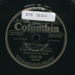 Stefana de Macedo - Batuque (1929)
