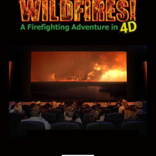 WILDFIRES (4D Ride Film): The Rescue