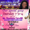 Shashicka Tyre - Hill Interview Lady Flava Show