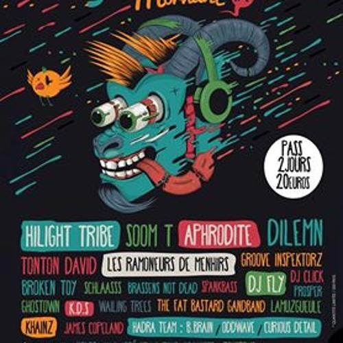 Drop7 - Energik Waves @ FestBouc Festival - Mix Energik Techno [UPDATED Mixtape - free download]
