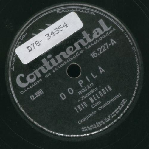 Trio Melodia - Do Pilá (1950)