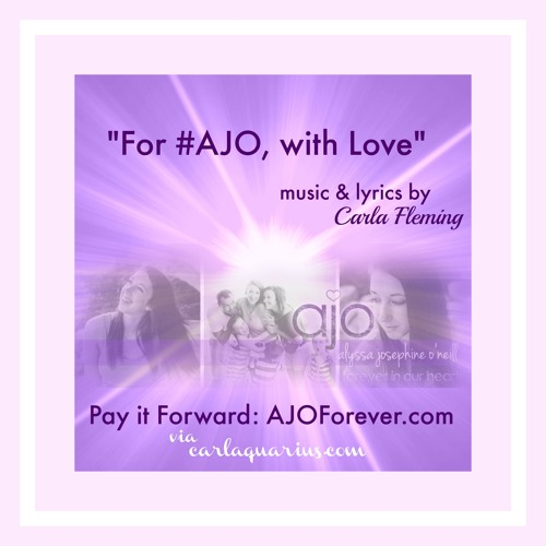For #AJO, With Love