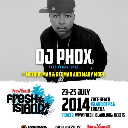 DJ PHOX - 1ST HR @FRESHISLANDFESTIVAL '14 [PAPAYA]