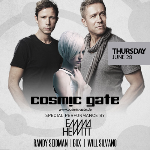 Mr Box Opening for CosmicGate