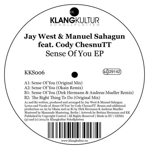 "Jay West & Manuel Sahagun - The Right Thing To Do [KLANGKULTUR SCHALLPLATEN] 12"" Preview (Lo Fi)"