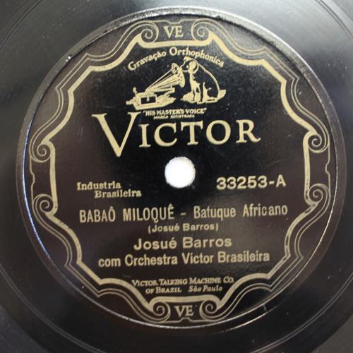 Josué de Barros - Babaô Miloquê (1929)