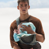 Brenton Thwaites On Bonding With 'The Giver' Babies (Funny clip)