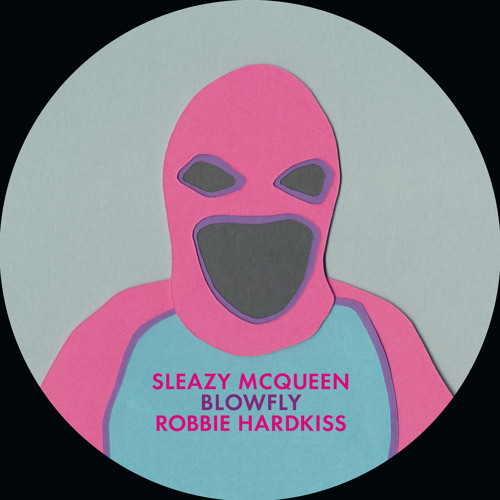 GVR1232 — Sleazy McQueen feat. Blowfly & Robbie Hardkiss — The Walking Beat 12""