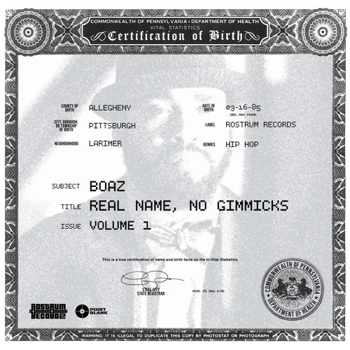 Real Name, No Gimmicks (Vol. 1)