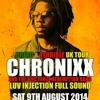 Little Richie Talks 2 Chronixx 6-8-14 (A Head Of The Birmingham U.K Dread & Terrible Tour)