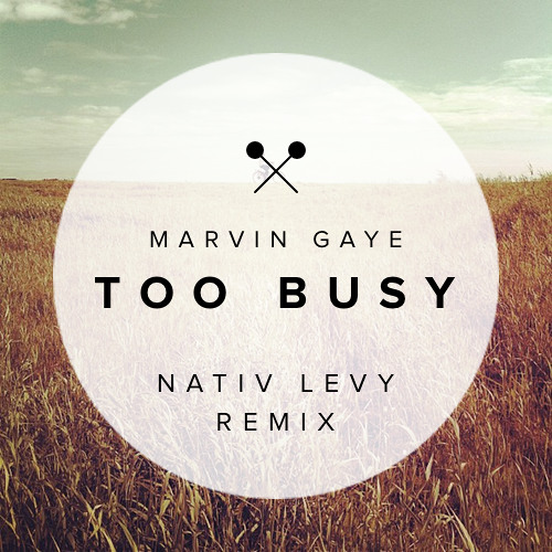 Marvin Gaye - Too Busy (Nativ Levy Remix)
